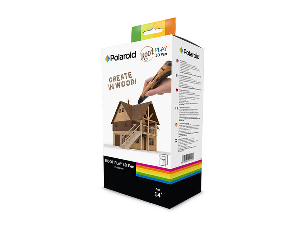 POLAROID ROOT PLAY 3D PEN - create in real wood