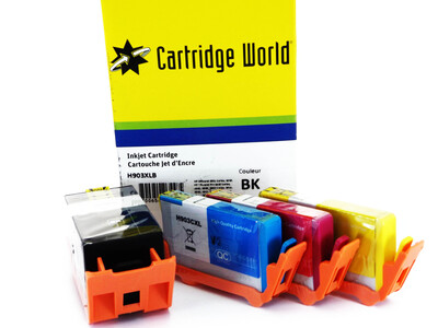 HP 903XL CW REPLACEMENT INK SET OF 4