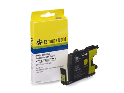 BROTHER LC1280 CW REPLACEMENT YELLOW INK