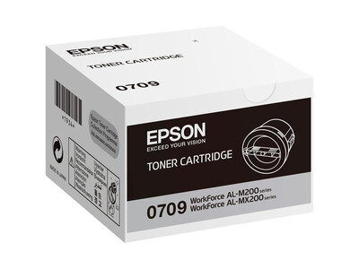 EPSON 0709 ORIGINAL BLACK TONER
