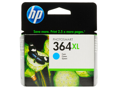 HP 364XL ORIGINAL CYAN INK