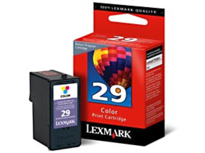 LEXMARK 29 ORIGINAL COLOUR INK