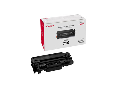 CANON 710 ORIGINAL L/Y TONER BLACK *4500 PAGES