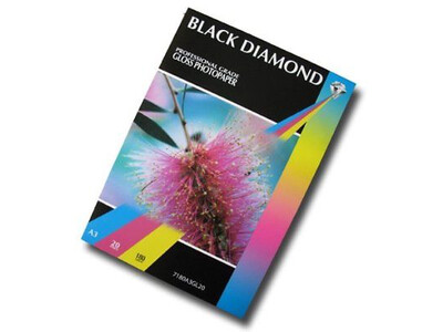 BLACK DIAMOND GLOSS PAPER A3 260G 50PK
