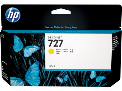 HP 727 XL ORIGINAL YELLOW INK