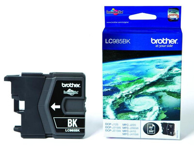 BROTHER LC985 ORIGINAL BLACK INK