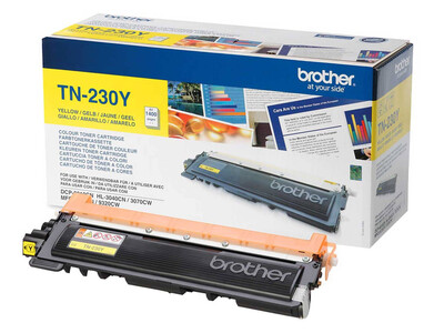 BROTHER TN230 ORIGINAL TONER YELLOW