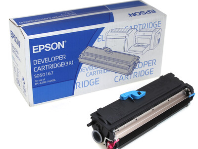 EPSON SO50167 ORIGINAL TONER BLACK