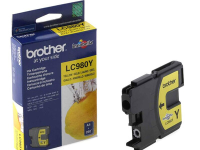 BROTHER LC980 ORIGINAL YELLOW INK