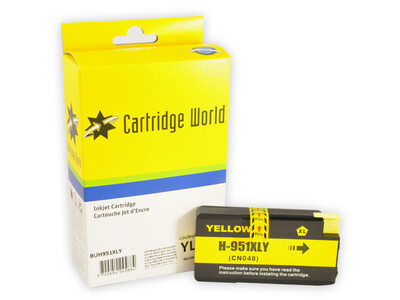 HP 951XL CW REPLACEMENT YELLOW INK *1900 PAGES!