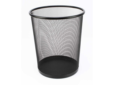 OFFICE BASKET 16LTR  BLACK