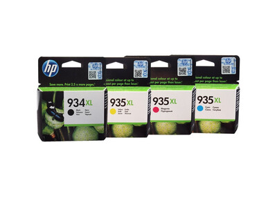 HP 934/935 XL ORIGINAL SET OF 4 INKS