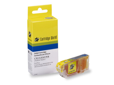 CANON CLI526 CW REPLACEMENT YELLOW INK