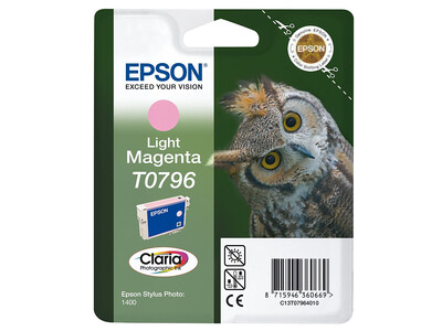 EPSON T0796 ORIGINAL LIGHT MAGENTA INK