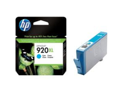 HP 920XL ORIGINAL CYAN  INK