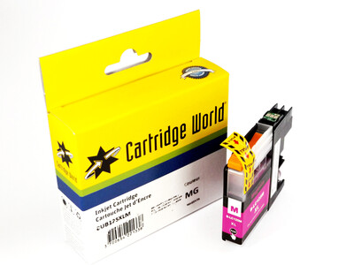 BROTHER LC125 XL REPLACEMENT MAGENTA INK
