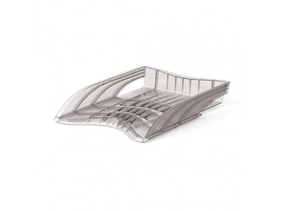 ERICHKRAUSE PLASTIC LETTER TRAY S-WING TRANSPARENT