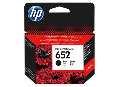 HP 652 ORIGINAL BLACK INK F6V25AE *360 PAGES