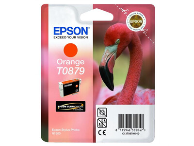 EPSON T0879 ORIGINAL ORANGE INK