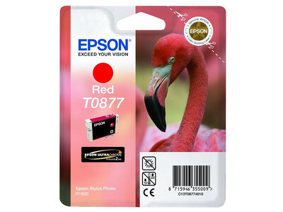 EPSON T0877 ORIGINAL RED INK