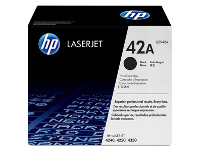 HP Q5942A ORIGINAL TONER BLACK