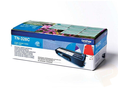 BROTHER TN328 ORIGINAL TONER CYAN