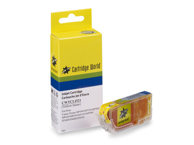 CANON CLI521 CW REPLACEMENT YELLOW INK