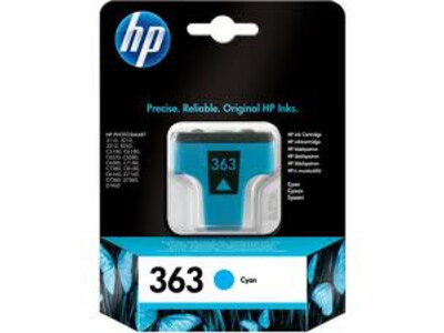 HP 363 ORIGINAL CYAN INK