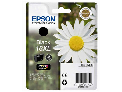 EPSON T18XL ORIGINAL BLACK INK