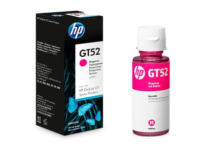 HP GT52 ORIGINAL CYAN INK BOTTLE