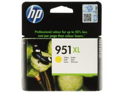 HP 951XL ORIGINAL YELLOW INK *1500 PAGES