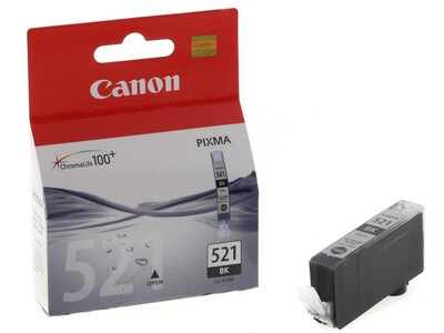 CANON CLI521 ORIGINAL BLACK INK