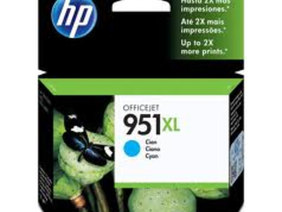 HP 951XL ORIGINAL CYAN INK *1500 PAGES