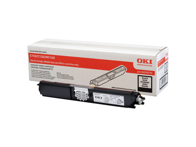 OKI C110/C130/MC160 ORIGINAL BLACK TONER