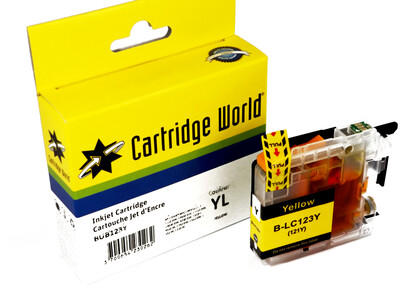 BROTHER LC123/121 CW REPLACEMENT YELLOW INK