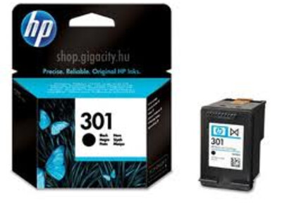HP 301 ORIGINAL BLACK INK 3ML