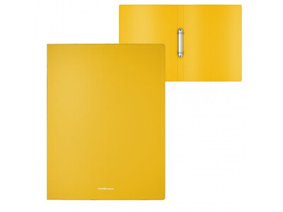 ERICHKRAUSE RING BINDER CLASSIC 2 RINGS 24mm A4 YELLOW