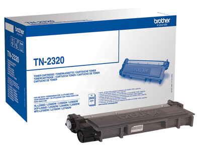 BROTHER TN2320 ORIGINAL TONER BLACK