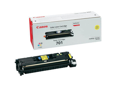 CANON 701 ORIGINAL TONER YELLOW