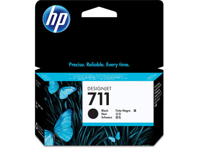 HP 711 ORIGINAL BLACK INK 38ml