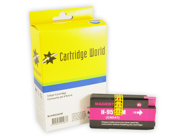 HP 951XL CW REPLACEMENT MAGENTA INK *1900 PAGES!