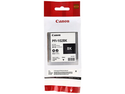 CANON INK PFI 102 BLACK INK