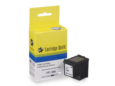 HP 300 XL CW REPLACEMENT BLACK INK 19ML!with ink level chip
