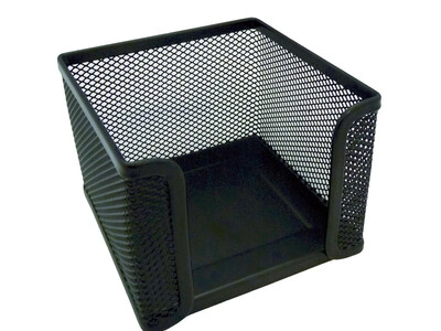 METALIC CUBE HOLDER  BLACK