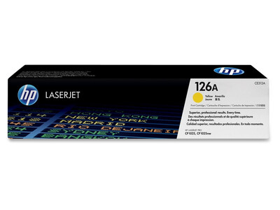 HP CE312A ORIGINAL TONER YELLOW 126A