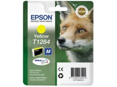 EPSON T1284 ORIGINAL YELLOW INK