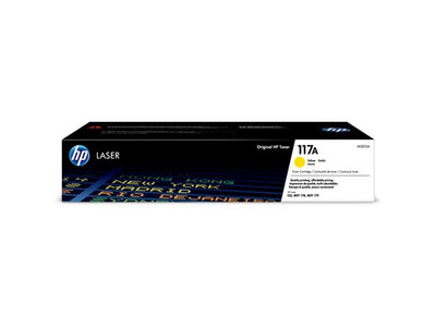 HP 117A ORIGINAL TONER YELLOW W2072A