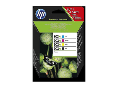 HP 903XL ORIGINAL MULTIPACK OF 4 INKS
