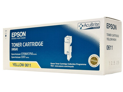 EPSON CX17NF ORIGINAL TONER YELLOW