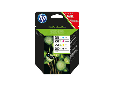 HP 950-951 EXTRA LARGE ORIGINAL Multipack OF 4